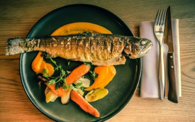 The benefits of fish and seafood for digestion